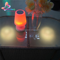Table lamp Bluetooth Speaker Music Player Mini Speakers With LED light Remote Control