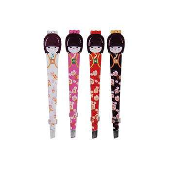 Cute Japan Style Cosmetic Eyebrow Tweezers