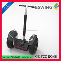 Eswing 2015 Hot-sale 2wheels Scooter personal beach pedal car for lovers,off road vehicle,amusement park go kart