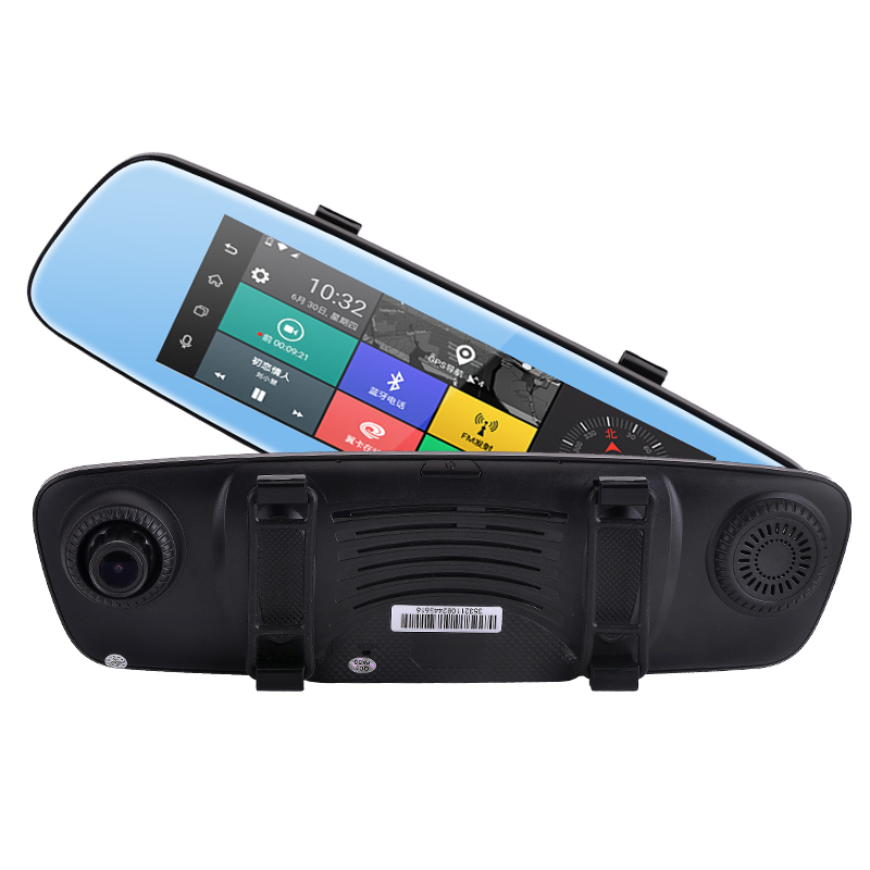 "7.84"" Car GPS Navigation DVR full <strong>HD</strong> 1080P Android Car Camera Video Recorder ADAS 4G WiFi Car Security Camera dash cam"