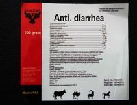 highly effective combination of broad-spectrum antibiotics and vitamins anti.diarrhen