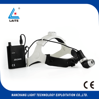 Portable JD2000II 5w Led surgical headlight Medical sugery headlamp