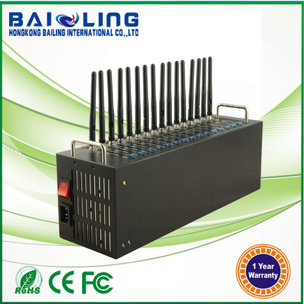 Hot sale 16 port goip sim bank 3G modem pool 16 port gsm modem
