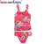 Stylish custom printing sexy kids swim wear tankini