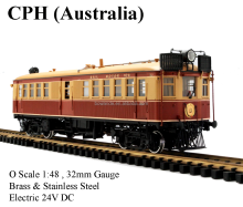 CPH ,1:48 Electric Australian train (Brass made)