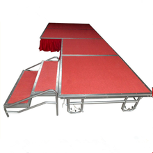 High Quality Cheap Portable Mobile indoor used Stage for sale
