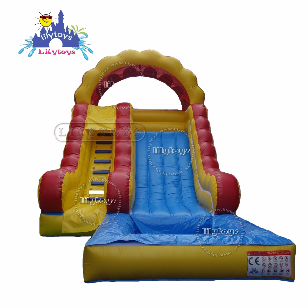 cheap hot sale inflatable wet slide, inflatable water slides wholesale, water slide equipment for kids fun