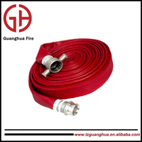 8 inch rubber covered fire hose used for industry