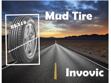 chinese new brand INVOVIC PCR SUV mud tires MT tires car tires manufacture