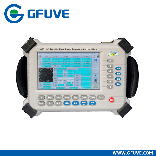 Three phase multimeter tester