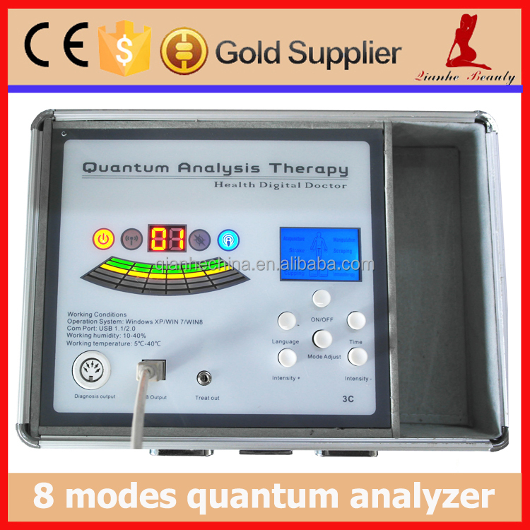 8 modes TENS 5th generation quantum resonance magnetic analyzer