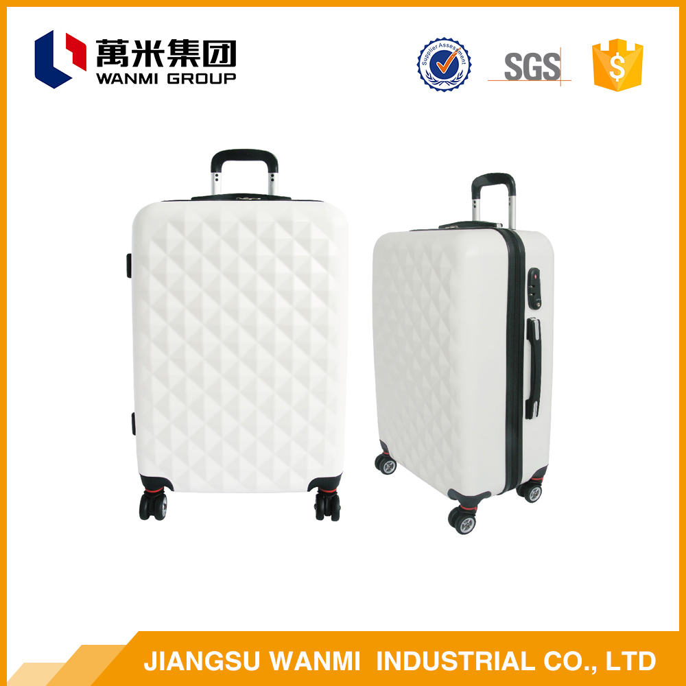 Online shopping ABS and PC school girl airport trolley travel luggage bag sets