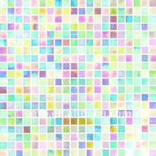 Dream color rainbow reflective river glass mosaic tile