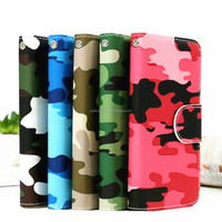 Colorfull leather belt clip smart case for Note 3,leather cover case for Note 5