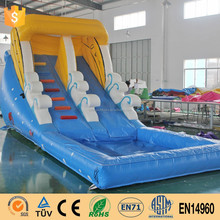 Wholesale commercial grade giant inflatable water slide for kids