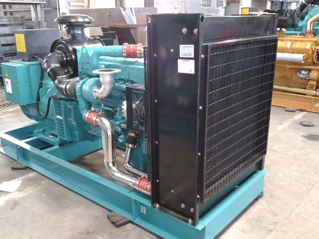 250KW313KVA silent diesel generator set powered by cummins engine