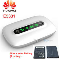 Huawei E5331 3G router Wireless hotspot Hspa 21m 3g Mobile Modem 21mbps 3G mobile wifi Wireless Router broadband (2 battery)