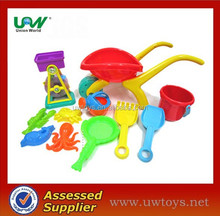 C019 11pcs beach tools/sand toy set from Union World toys