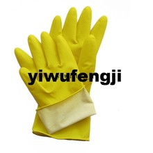 Latex Household Gloves / Latex Kitchen Gloves / Rubber Garden Gloves Good Quality