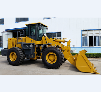 Chinese manufacturer low price 220HP engine 5 ton ZL50G front end wheel loader for sale