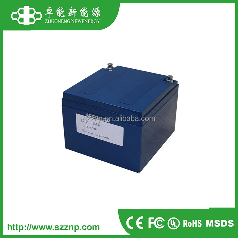 3s6p 18650 lithium rechargeable battery pack 12v 18AH for car starting