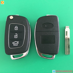 flip key remote for Hyund 3 Button Modified Flip Key Shell Accent blade