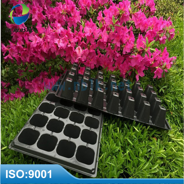 228 cells black plant propagation seed tray