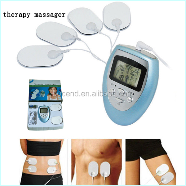 electronic pulse massager digital pulse massager