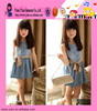 Hot Sale With Belt Dress Classic And Fashion Jeans Summer Dress