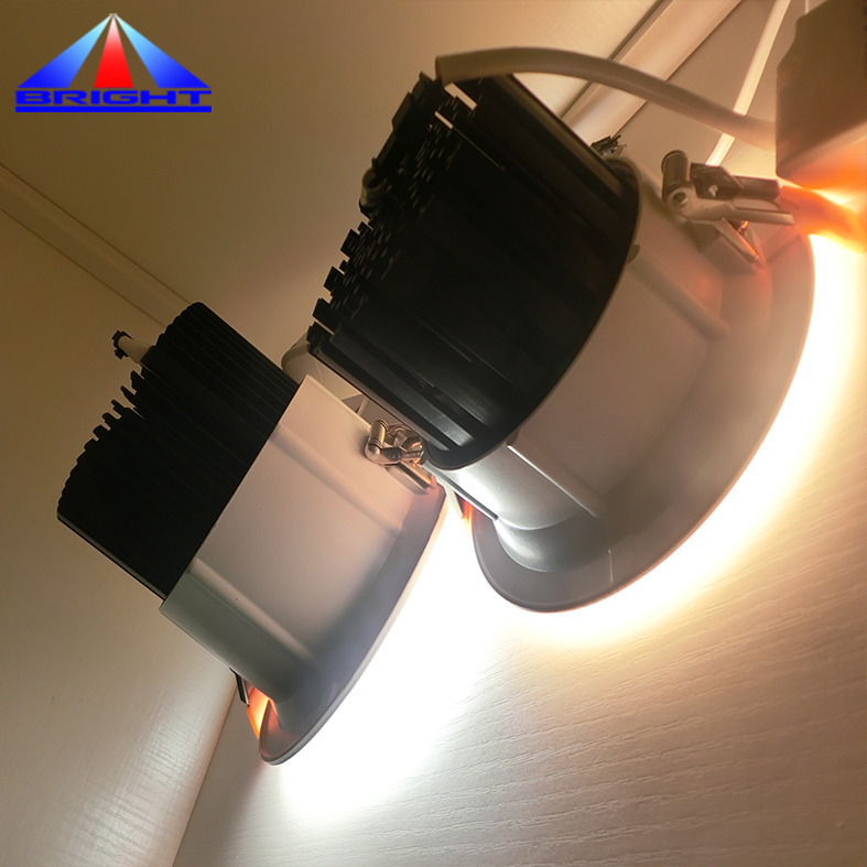 Chinese supplier recessed dimmable 6 inch cob 30w led downlight for Shopping Mall