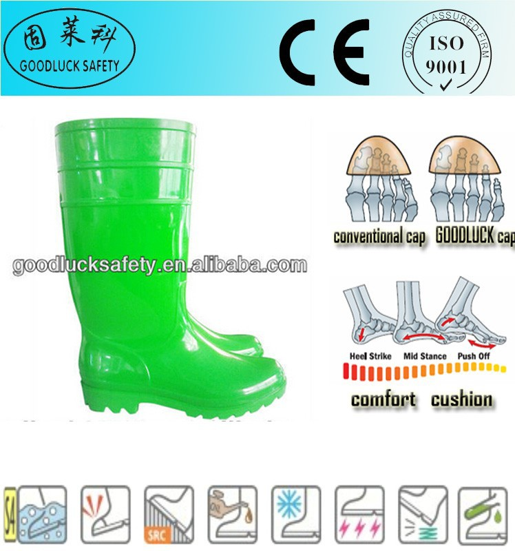green pvc boots,custom made wellington boots,wellington rain boot