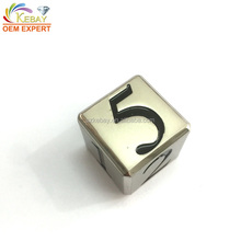 High quality custom casino carved engraved dice factory