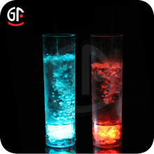 New Year Advertising Gifts Tableware Glasses With Led Light