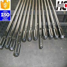 Heat treatment long threaded alloy drill rods