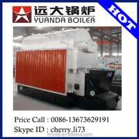 6 tph one drum horizontal full automatic coal fired steam boiler