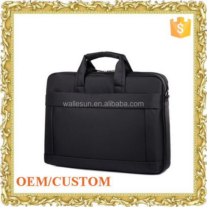 Top sell computer shoulder bag business case ladies laptop trolley bag