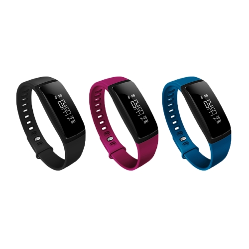 V07 0.87 inch OLED Screen Bluetooth V4.0 Smart Bracelet, Support Blood Pressure Monitor / Heart Rate Monitor / Pedometer / Calor