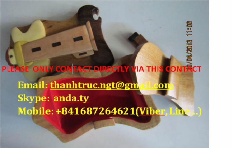 Supply Wooden jewelry puzzle boxes set (Call: +841687264621)
