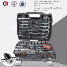 Easy operate socket set hand <strong>tools</strong> 82pcs CR-V high quality hex socket set screw with cone point