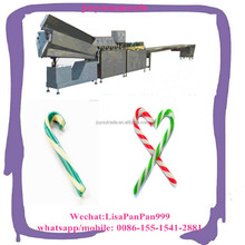 automatic lollipop candy cane making machine with factory price