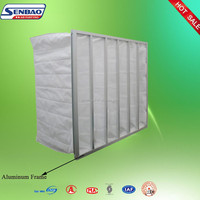 Hospital Filtration System Cleaning Air Conditioning Bag Filter