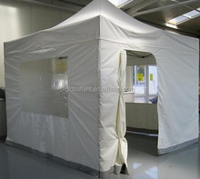 3x3m white alu tent with clear window tent