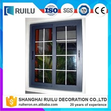 New modern window grill design sliding windows/house window for sale meet American standard