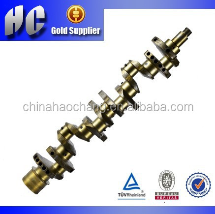 crankshaft manufacturer/used for Mitsubishi 6D15 engine part crankshaft