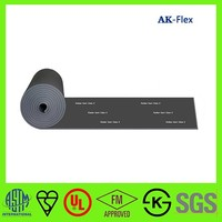 Ventilation duct low K value thermal insulation