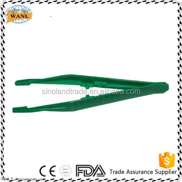 surgical disposable plastic forcep