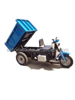 Hot newest 1T battry operated hydraulic mini dumper for sell