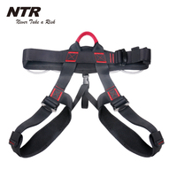 NTR safety half body belt sit climbing harness with waist support