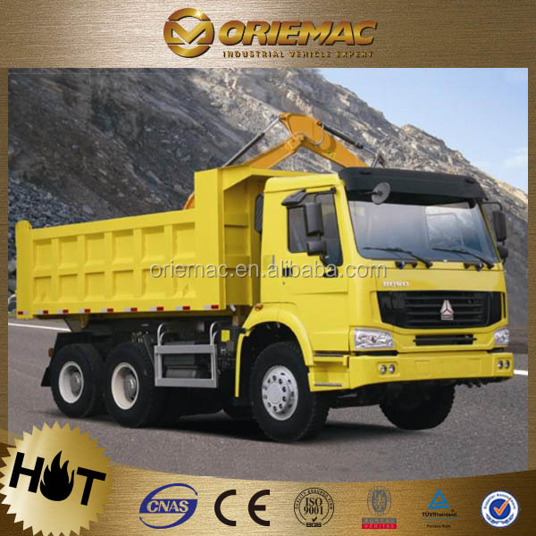 howo dump truck euro2 emission manual hydraulic tipper lorry
