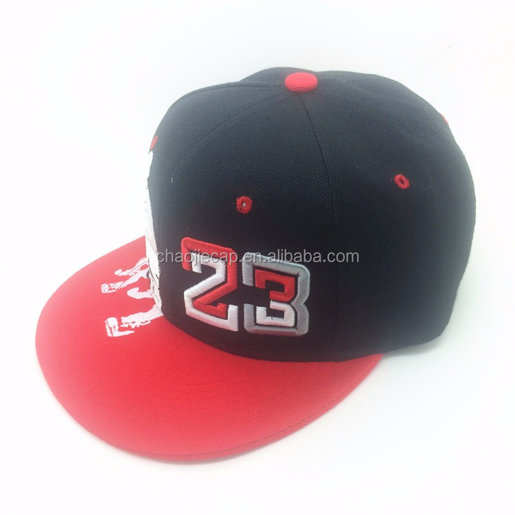 2017 new design custom hip hop cap and hat with embroidery